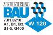 Wie sind zertifiziert nach W120 neu Zertifizierung Bau