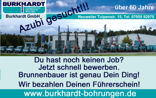 Azubi gesucht Burkhardt GmbH Neuweiler