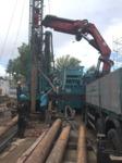 Brunnenbohrung für die Experimente in Heilbronn Dn 1200/780 mm