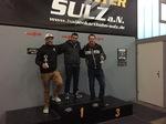 Die Sieger beim Kartrennen des Burkhardt Teams