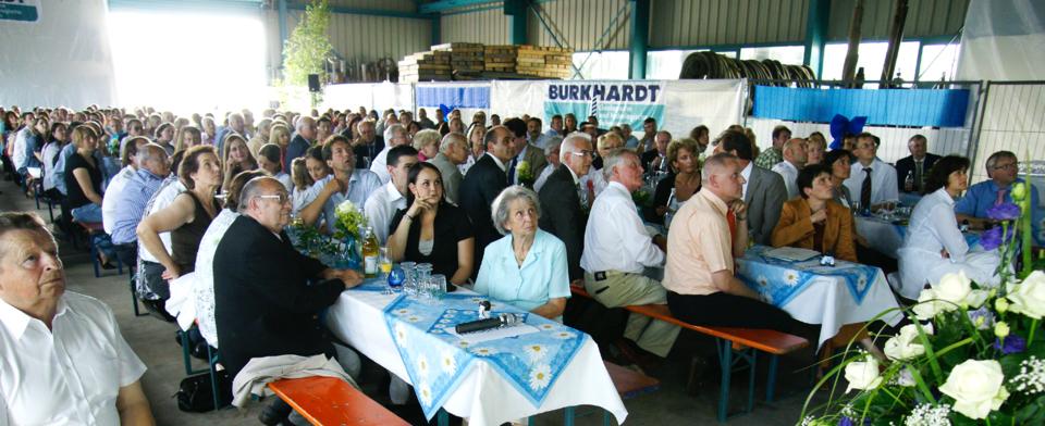 50-jähriges Jubiläum Firma Burkhardt mit Umweltministerin Tanja Gönner
